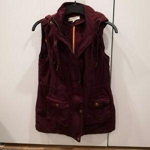 41 Hawthorn NWOT Hooded Cargo Vest, Size S